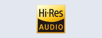 Logotipo de High-Resolution Audio.
