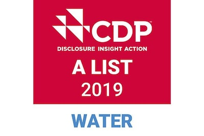 CDP DISCLOSURE INSIGHT ACTION: lista A de 2019, agua