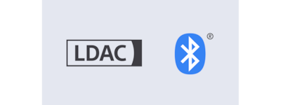 Logotipos de LDAC y BLUETOOTH®